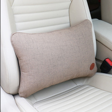Car seat lumbar support auto Seat Chair Back Massage Lumbar Support  pillow car cover Office Home car styling General Automotive