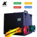 Flying Bear Tornado 2 Pro grote 3d Printer DIY Volledig metalen Lineaire rail 3d printer Kit Hoge Kwaliteit Precisie dubbele extruder