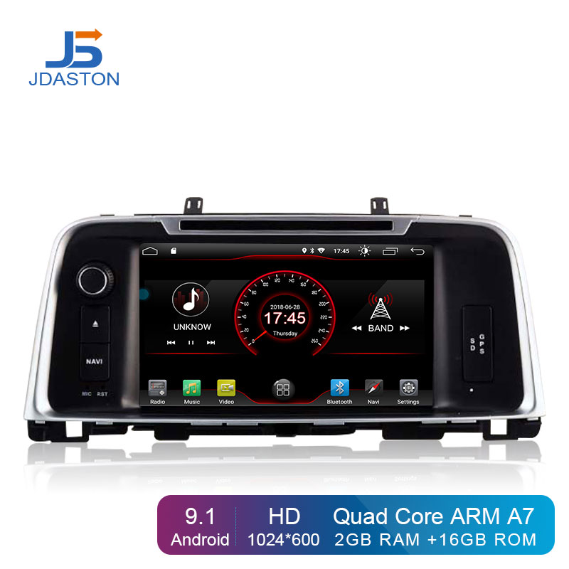 JDASTON Android 9.1 Car Multimedia DVD Player For KIA K5 OPTIMA 2015 2016 2017 2018 2 Din Car Radio GPS Navigation Stereo WIFI image