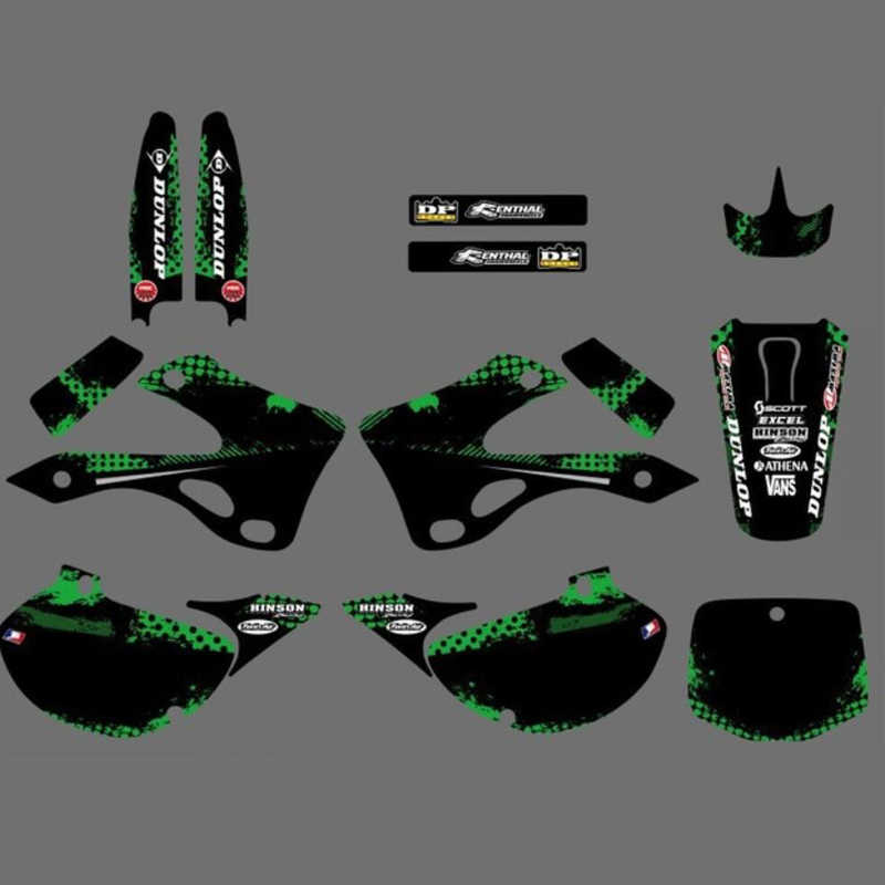 Miraculous Mst Kx125 Kx250 Motorcycle Graphics Kit For Kawasaki Kx 125 Bralicious Painted Fabric Chair Ideas Braliciousco