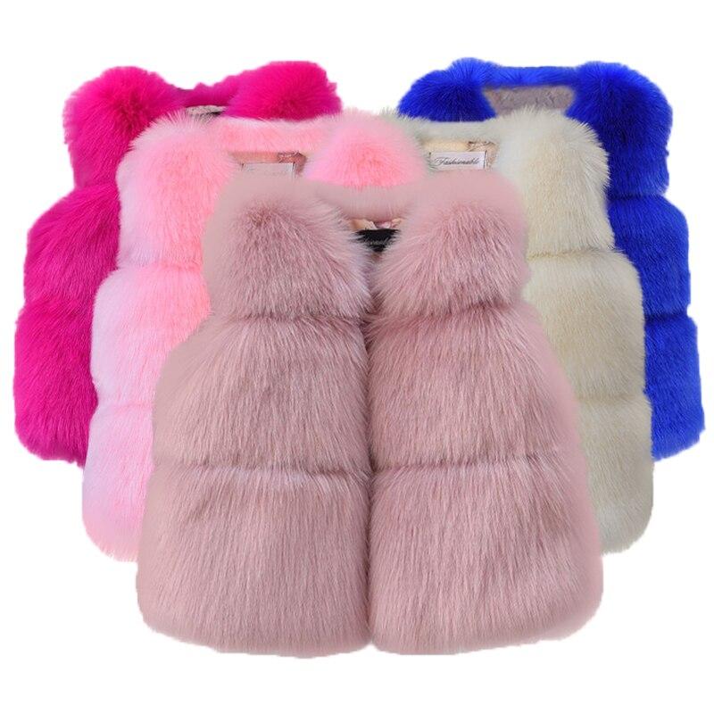 Kinderen Mode Kleding Herfst Winter Faux Fur Baby Jassen Voor Meisjes Bloem Jassen Voor Kinderen Kleding Top Baby Meisjes Uitloper Goede Metgezellen Voor Kinderen Evenals Volwassenen