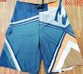 Новый 2016 летом бренд Эластичная ткань Пляж surf мужчины Совета шорты бермуды masculina мужские boardshorts Плюс Размер
