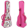 "21""23 24""26 inches concert soprano tenor ukulele acoustic guitar bag case package Lanikai Luna Mahalo Lanikai Ukes gig soft pink"