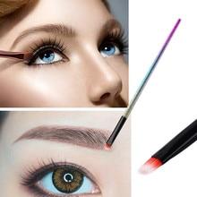 1 piezas maquillaje cepillo cosméticos pinceles/brochas cara nariz cepillos corrector Fundación ceja delineador de ojos en polvo herramienta de maquillaje FD