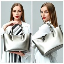 SUNNY SHOP  LUXURY 100% Genuine Leather Women Shoulder Bags Brand Designer Cowhide genuine leather handbag Skin Crossbody bag