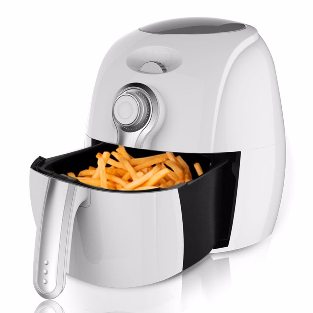 2.7L Electric Air Fryer Adjustable Frying Machine With Dimension Air Cycle Heating Timing Control For Home Electric Deep Fryer