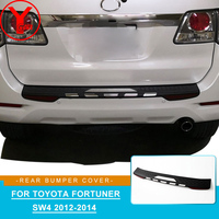 ABS rear step bumper cover For Toyota fortuner sw4 2012 2013 2014 bumper For toyota fortuner 2014 car parts accessories YCSUNZ