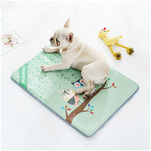 New dog ice silk mat spring and summer pet Golden Retriever large medium-sized law kennel