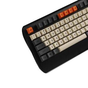 Image 5 - YMDK Carbon Dye Sub 108 87 61 Key Mac Keys Thick PBT OEM Profile Keycap For Standard 104 TKL 60% MX Switches Keyboard