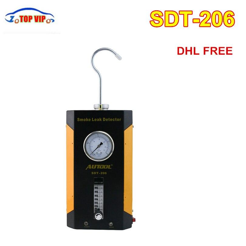 AUTOOL SDT-206 Car Smoke Machines SDT206 For Cars Leak Locator Automotive Diagnostic Tool Gas Analyzers