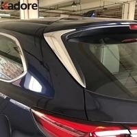 For Mazda CX9 CX 9 2016 2019 CX8 CX 8 ABS Chrome Side Door Rear View Window Spoiler Cover Trim Triangle Insert Garnish Bezel