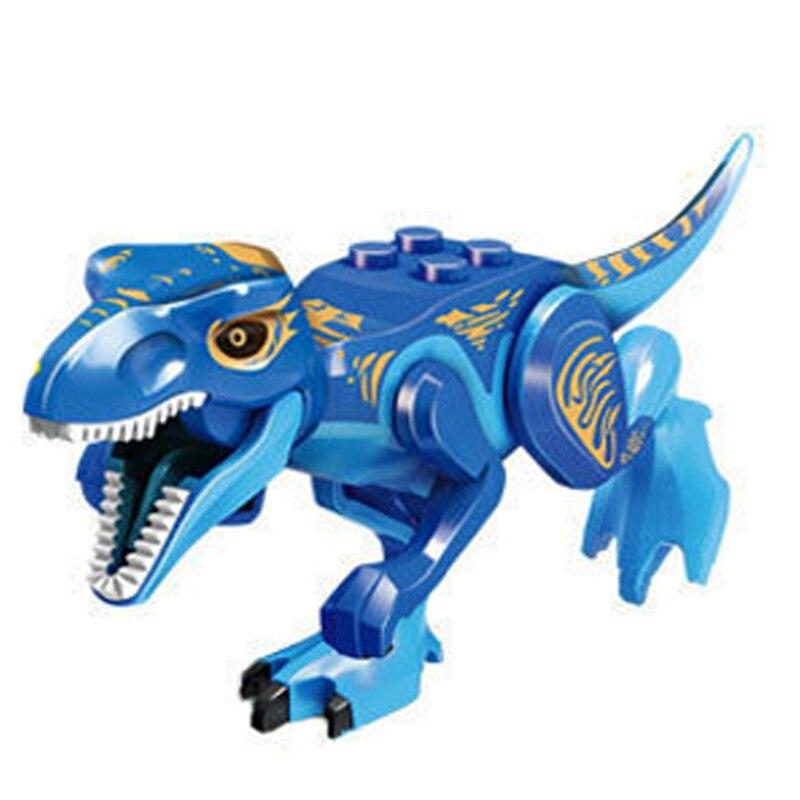2017 Dinosaurs Park Pterosauria Triceratops Building Blocks compatible with legoes World Jurassic Figures Bricks Toy juguete цена 2017