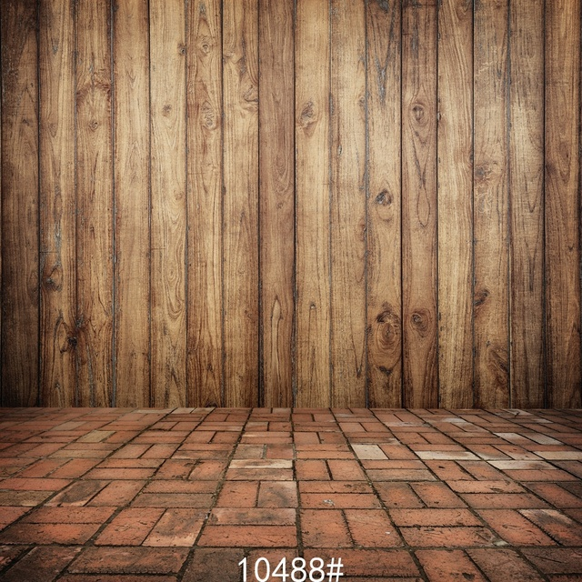 Brown Wood Fence Photography Background Cloth