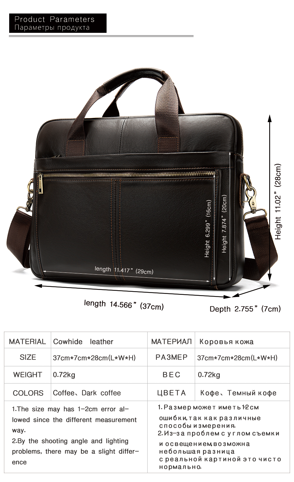 HTB1XJ1rUCzqK1RjSZPcq6zTepXa0 WESTAL briefcase messenger bag men's genuine leather 14'' laptop bag men's briefcases office business tote for document 8572