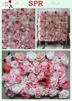 SPR NEW PINK 10pcs/lot Artificial flower wall wedding backdrop table centerpiece flower ball market decoration