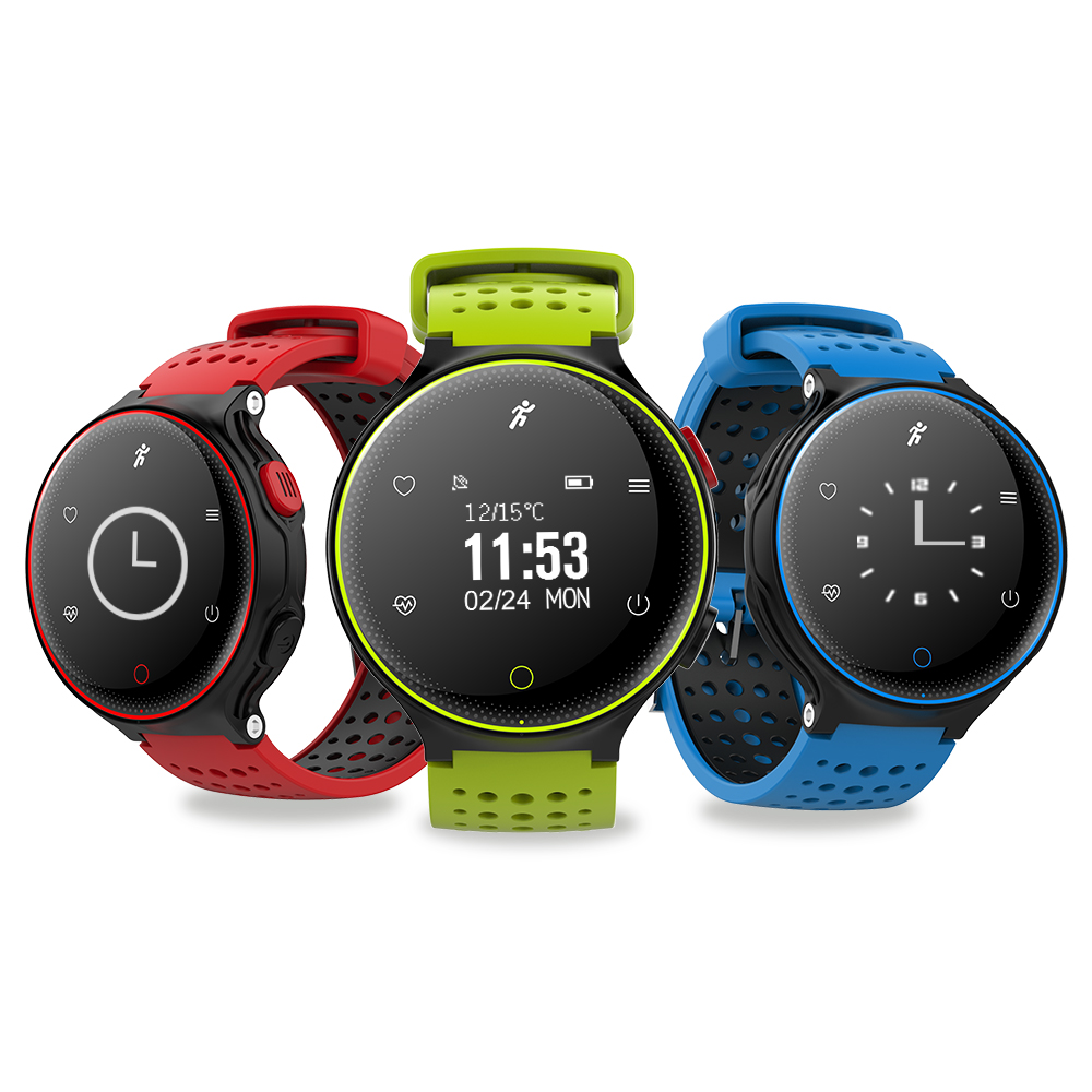 Sport IP68 Waterproof Smartband 180 days long Standby Support Blood pressure Blood oxygen Heart rate monitor