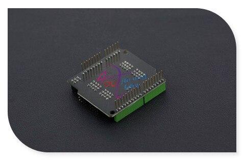 DFRobot Original IIC TO GPIO shield V2.0 IO extension board, Support 16 Digital IO port for Arduino UNO/Leonardo -Modules