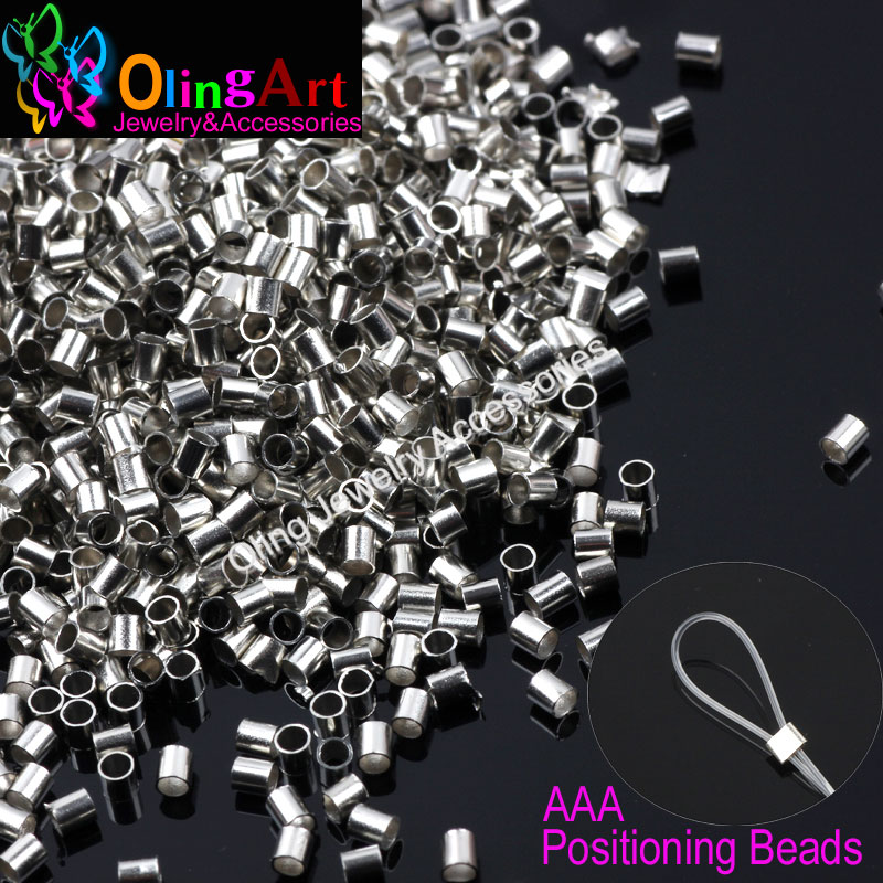 OlingArt Tube 2mm Silver Plated Wire Rope DIY Earrings Bracelet Choker Necklace Jewelry Making Findings Not Broken 2019 New