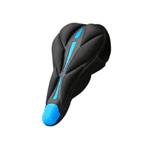 Breathable Bike Saddle Cover 3D Sponge Thick Sponge Bicycle Saddle Cover MTB Cycling Seat Comfortable Cushion Soft Seat Pad