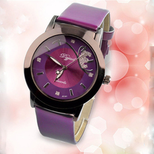 Relogio Feminino Reloj de Cuarzo Mujeres Del Reloj de Moda de Lujo Marca DGJUD Correa de Cuero Relojes Señoras Reloj de pulsera Relojes Mujer 2016