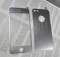 Передняя панель + Крышка 2 шт. 3D Красочные Закаленное Стекло-Экран Протектор Защитная Пленка для Iphone 5 5S для iphone7 7 ПЛЮС