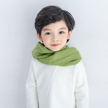 small scarf Korean version of the lovely wool children's scarf men and women baby scarves thicker models in winter optional S115