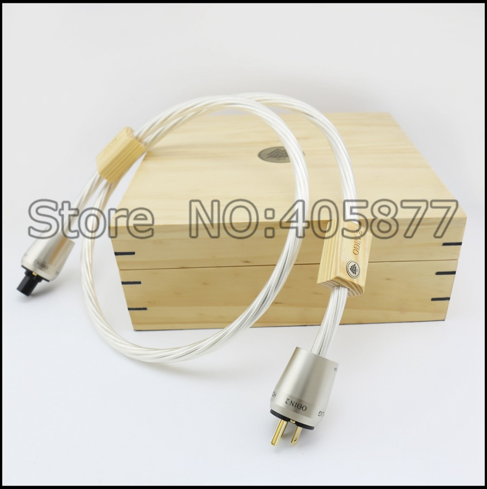 Nordost ODIN 2 Supreme Reference US Power Plug Cable 1.5M/2M Hifi US Power Cord Hifi Brand New With Original Box цена и фото