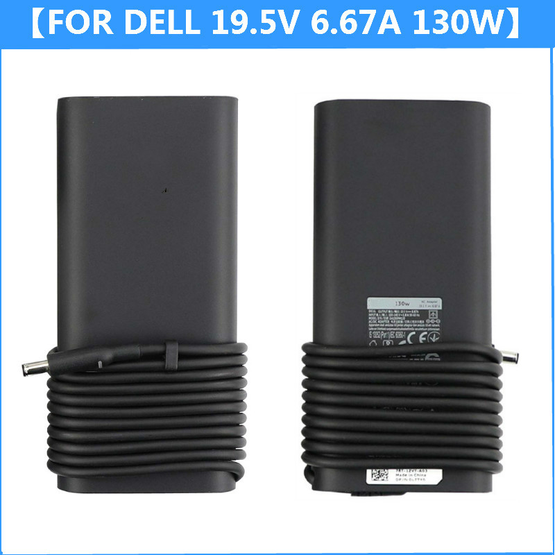New Genuine 19.5V 6.67A 130W AC Power Adapter Tip 4.5X3.0mm For Dell XPS 15 9530 9550 9560 Laptop Charger