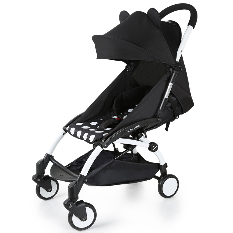 Babyyoya Baby Cart Super Light Folding Umbrella Car Can Sit Can Lie On The Plane And Push The Baby Car