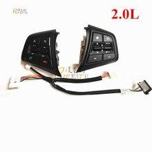 De alta Calidad Para Hyundai ix25 (Creta) 2.0L botones de control del volante botón del panel de control sin muelle de reloj