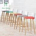 Современная и контракт творческий стул барный стул барный стул высокий стул кафе столы и стулья