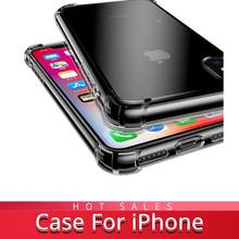 RYKKZ Corner protect Case for IPhone6 6S XR XS MAX X 8 Plus 7 Mobile Cases