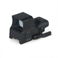 PPT 4 Reticle Mini Red Dot Red Green Color Reflex Sight For Hunting Shooting gs2 0083