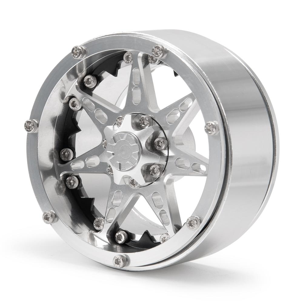 攀爬车-2.2英寸金属轮毂-24号-银+黑X1  (1)