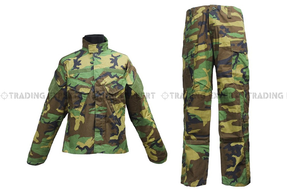 Us Army Military Uniform For Men Army Suit Clothing Green Camo CL-02-GC