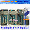 Высокое Качество Нового ЖК-Дисплей + Сенсорный Экран Digitizer Стекло Ассамблеи Для Huawei P9 Lite/G9 Мобильный Телефон Черный Белое Золото с Рамкой
