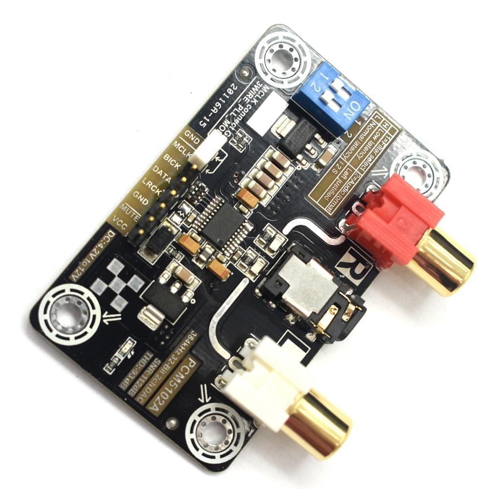 Niedrigerer Preis Mit Pcm5102a Verlustfreie Digitale Audio I2s-dac Decoder Für Raspberry Pi 2b/3b Unterstützung 32bit 384 K Dekodierung Modul T0612 Tragbares Audio & Video