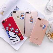 Cute Cartoon jingle cat cover case for iPhone Xs MAX Xr 6 6s 7 8plus 10 Funny Transparent soft TPU phone back shell cases coque(China)