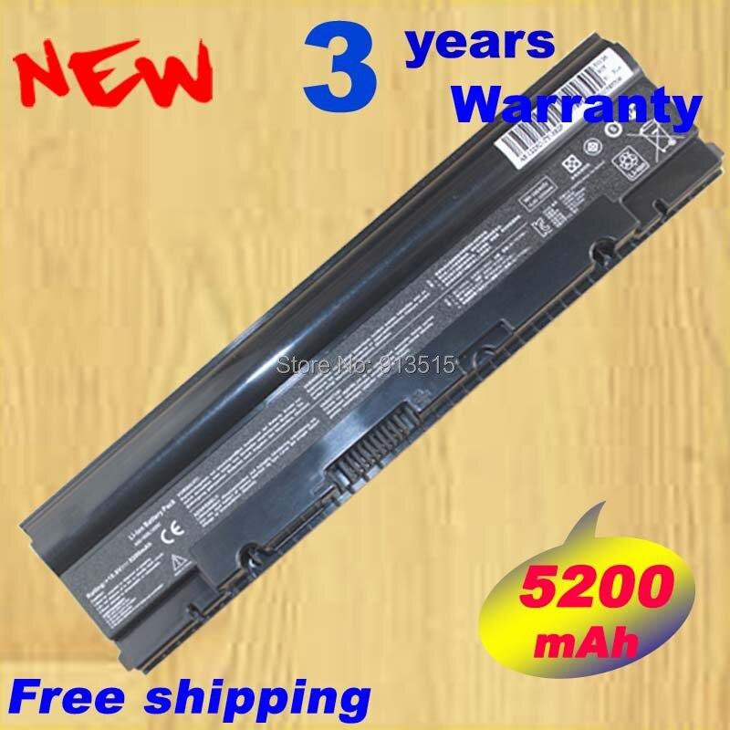 5200 mah batterie d'ordinateur portable pour Asus Eee PC 1025 1025C 1025CE 1225B 1225C R052CE A31-1025 A32 - 1025