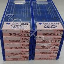 TBGT060102L-W T1200A  10pcs/box Sumitomo  New original Carbide blade