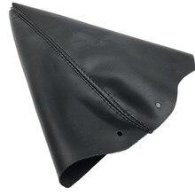 Для peugeot 307 SW CC 2003-2008 Черный пылезащитный чехол из искусственной кожи рычаг переключения передач Чехол