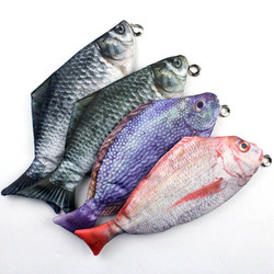 HOT fish piórnik torba ryby morskie dla dziewcząt chłopców symulowane ryby Oxford tkaniny wielki piórnik box szkolne 37553