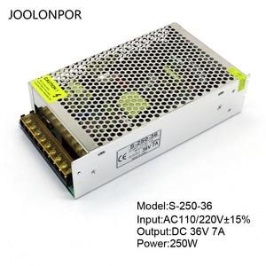 Image 2 - Switching Power Supply Ac 110V 220V to Dc 36V 40V 42V 5A 6A 7A 200W 250W 300W Motor Voltage Regulation Driver Power Supply