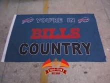 Buffalo Bills Flag Buffalo Bills rugby football banners Flag 3ft x 5ft NFL Team Banner Flying Custom flag