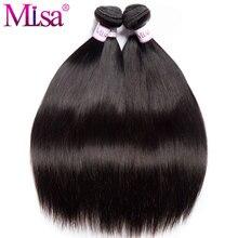 Mi Lisa Brazilian Straight Hair 3 4 Bundle Deal 10-28 Inches Remy Hair Weave Natural Color Free Shipping 100% Human Hair Bundles