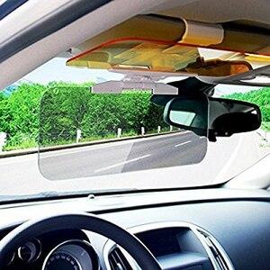 Image 5 - Osłona przeciwsłoneczna do samochodu 2 w 1 olśniewająca gogle dzień Night Vision osłona przeciwsłoneczna anty uv osłona przeciwsłoneczna osłona przeciwsłoneczna do jazdy lustrzane Clear View