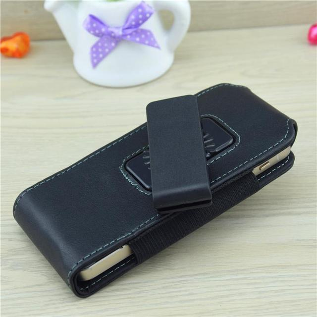 0cd78e5bef54 Wolfsay 4.0-4.4 pouce Pour iphone 5 Étui Clip Ceinture Flip Vertical Housse  En Cuir