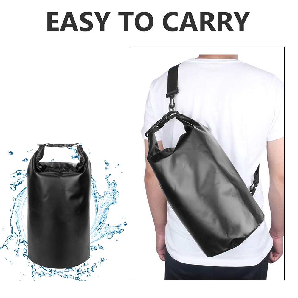 f1e06c562f6f US $8.94 35% OFF|Motorcycle Bag Outdoor PVC Dry Sack Bag Waterproof 10L 20L  30L, Shoulder, Bag, Diving, Swimming, Hiking Driving Travel Kits on ...