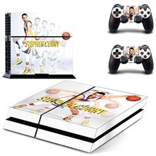 Stephen Curry Decal PS4 Skin Sticker For Sony Playstation 4 Console +2Pcs Controllers 2 pattrns