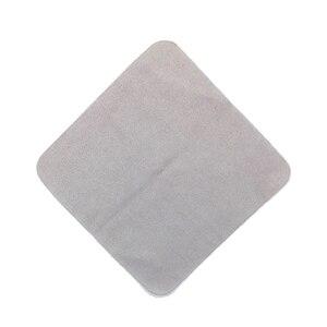 Image 2 - 14*14センチ10ピースビッグサイズカーコーティングマイクロファイバークロスceamicナノガラスコーティング布クリスタルglasscoatアプリケーション服